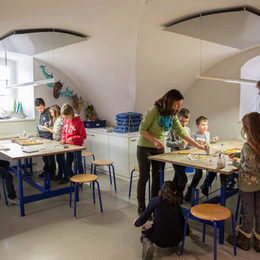 Ferienworkshop Mosaik